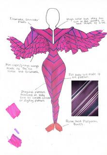 Purple Flight Suit