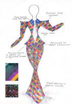 Flared Suit Design