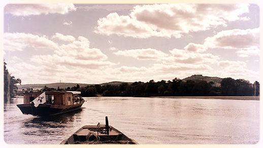 le Raboliot balade bateau sur Loire St Thibault pied Sancerre Cher 18