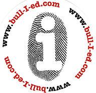 Bull-i-ed Sticker and Logo