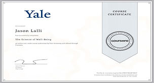 Yale Science of Well-Being Certificate