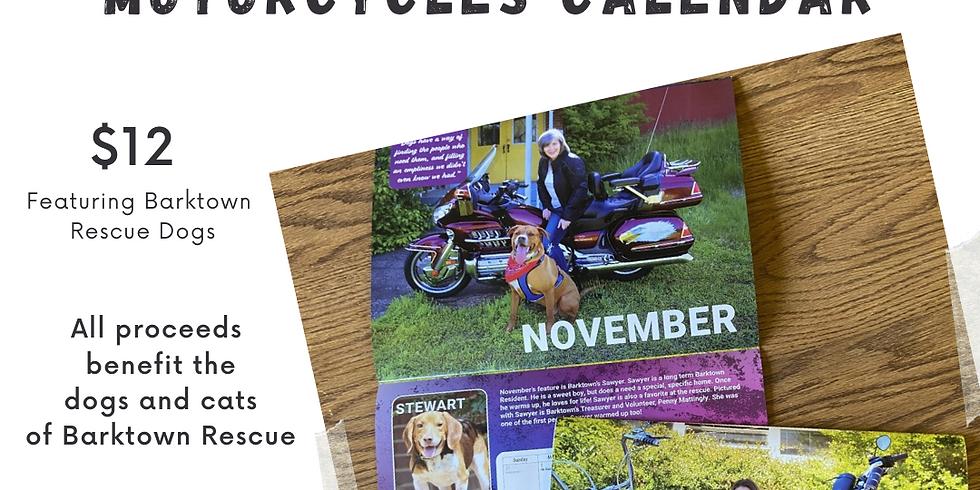 Mutts & Motorcycles Calendar Fundraiser