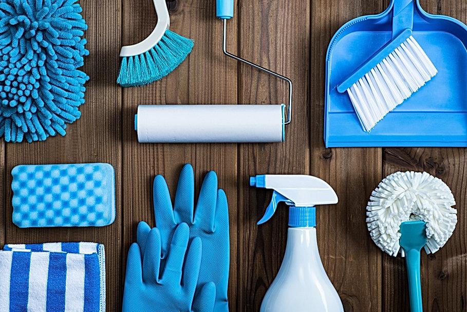 Les fournitures de nettoyage