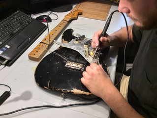 Modify your guitar with cool musical features!