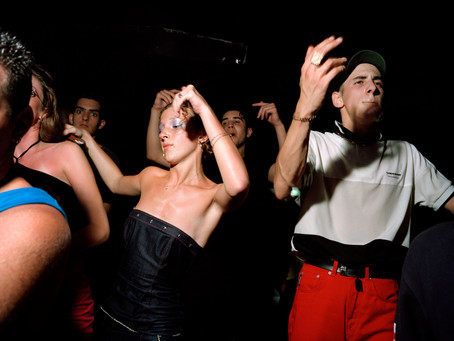 Ewen Spencer, the eponymous photographer of the UK Garage scene