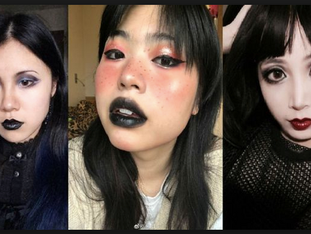 Chinese goths are using selfies to protest against lack of fashion freedom after subway incident
