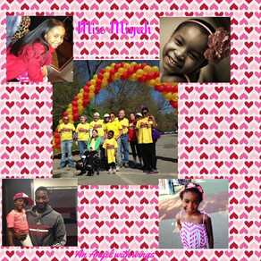 "Team ""Our Miyah"" 2015 Lymphoma Research Foundation Lymphomathon"