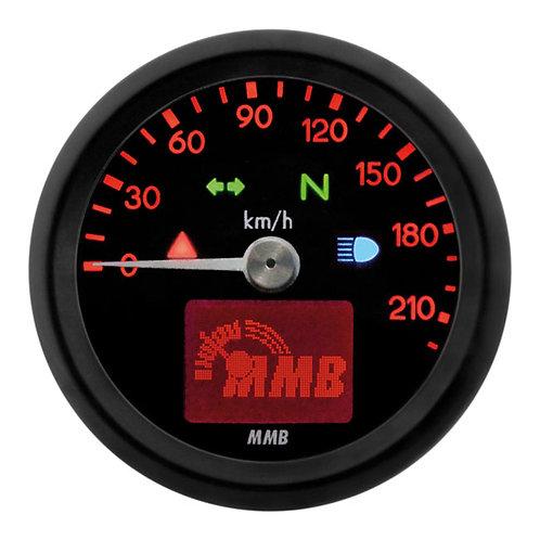Tachimetro MMB Rosso 48 mm