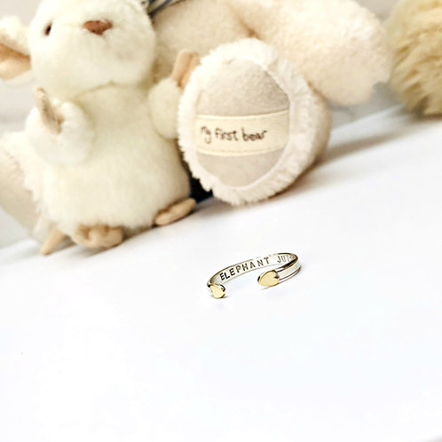 Baby Cuff - Silver & Gold