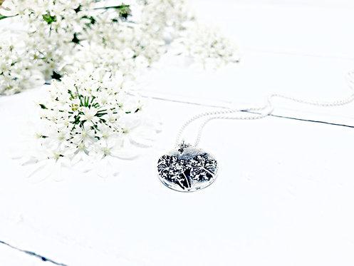 "Botanical - ""Cow Parsley"" necklace"