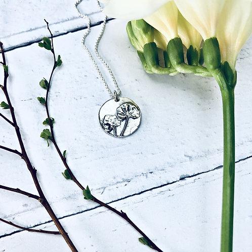 "Botanical - ""Mother's Garden"" necklace"