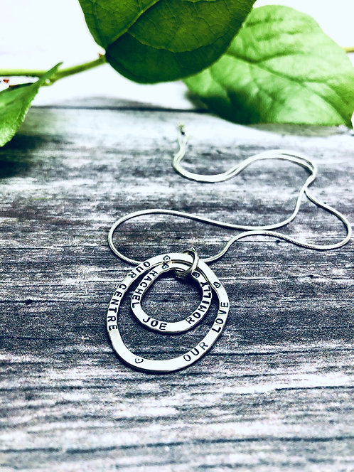 Echo - personalised necklace