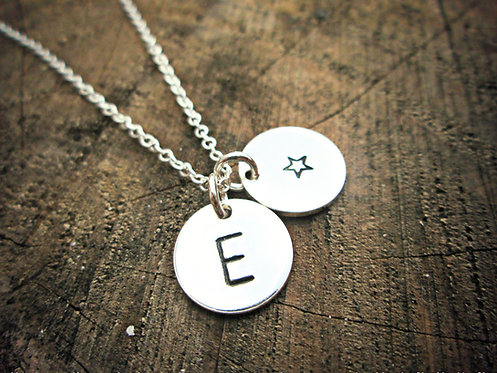 'Little Things' - initials necklace