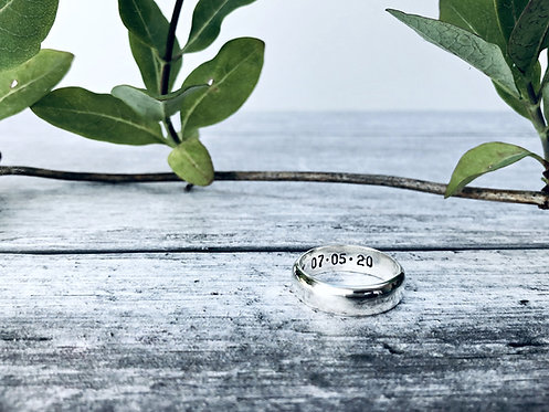 Shine - handmade wedding ring