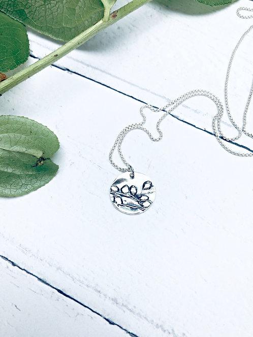 """Botanical - """"Budding"""" necklace"""