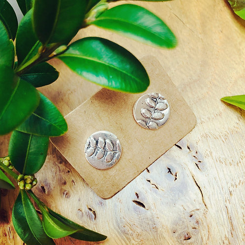 """Botanical - larger sized """"Linton"""" earrings (bloom where you are planted)"""