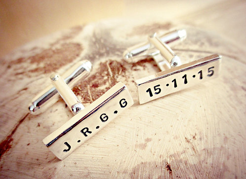 Special Date - personalised cufflinks