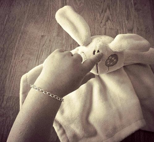 Baby Bracelet - Sterling Silver Christening gift