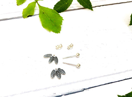 Brand new for Autumn 2020 - two earring designs in one!