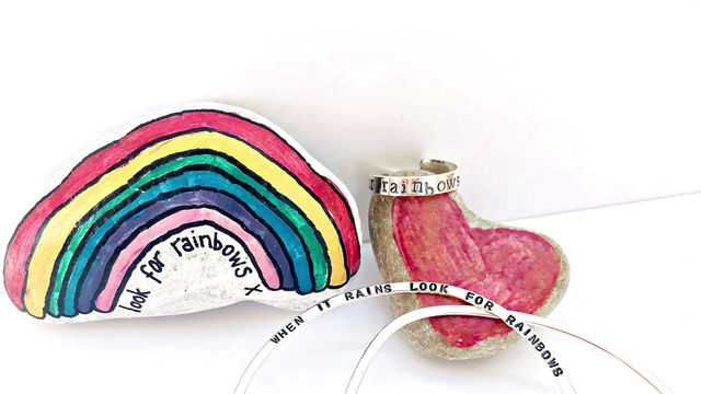 Look for rainbows...