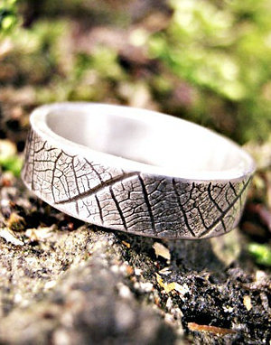 Leaf - nature-inspired jewellery