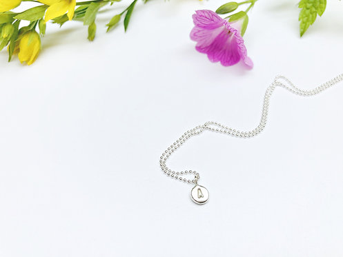 Initial - personalised necklace
