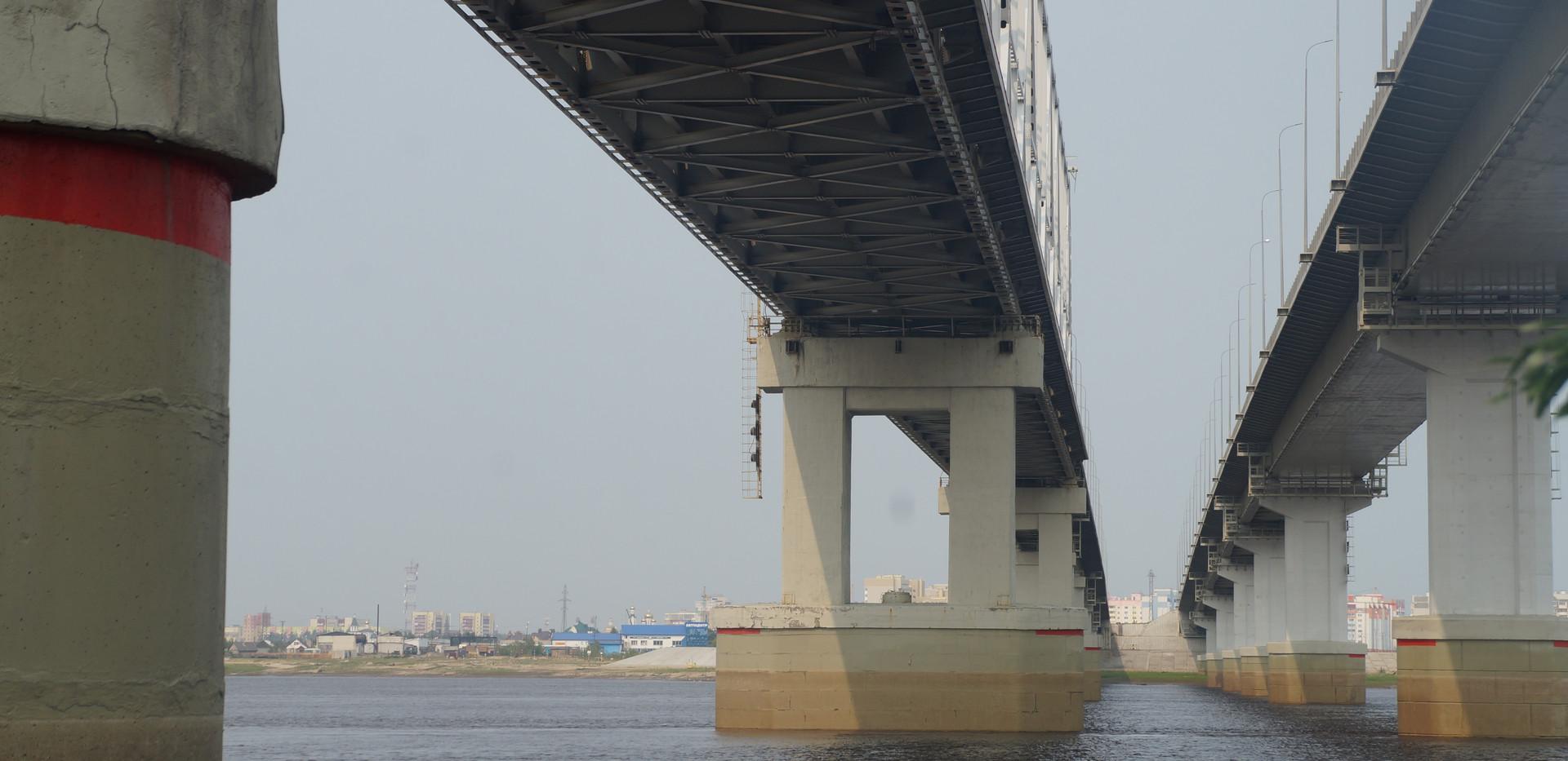 Обследование моста ч/з реку Обь (Нефтеюганск)