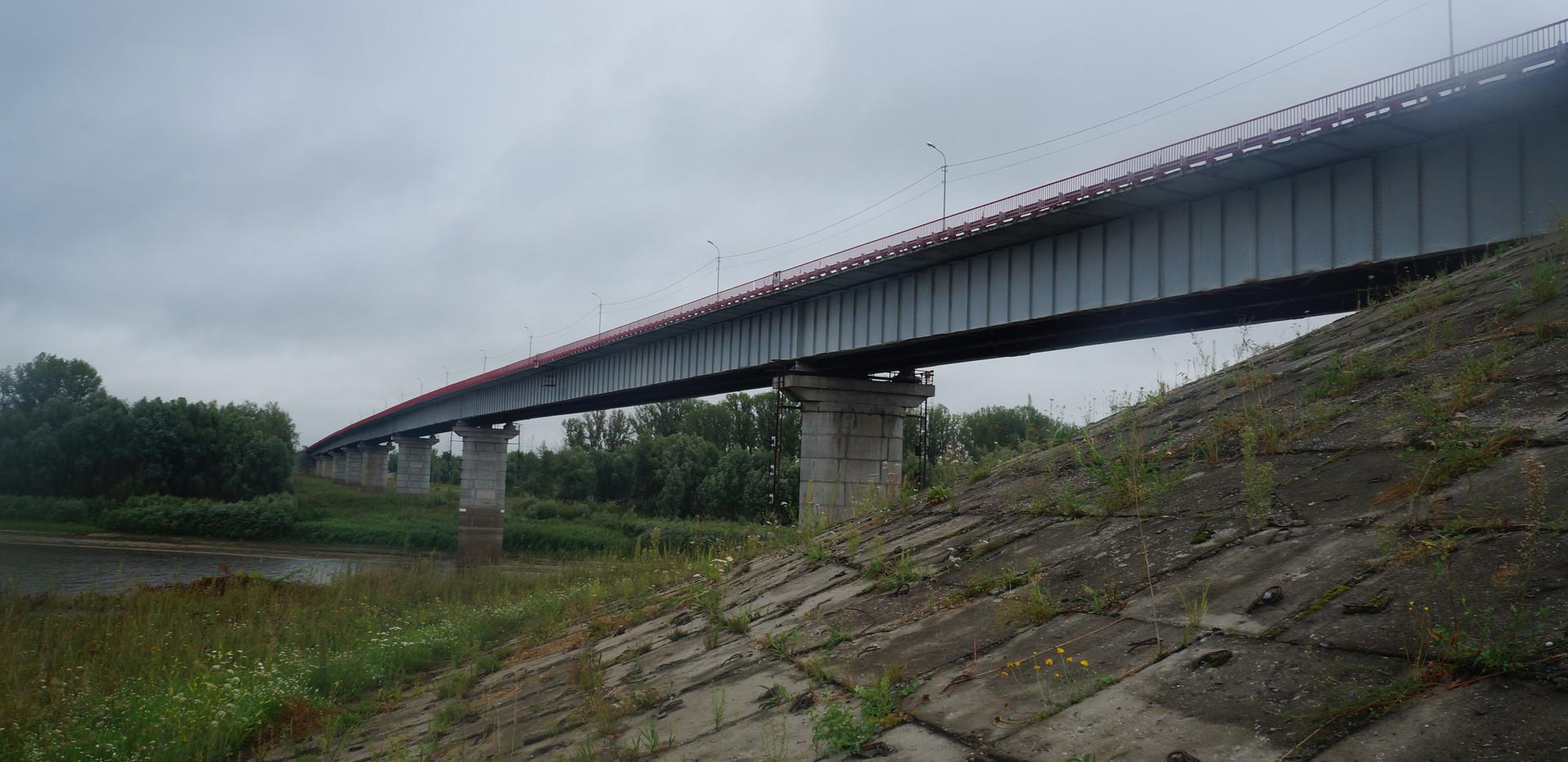 Обследование моста ч/з р. Тобол