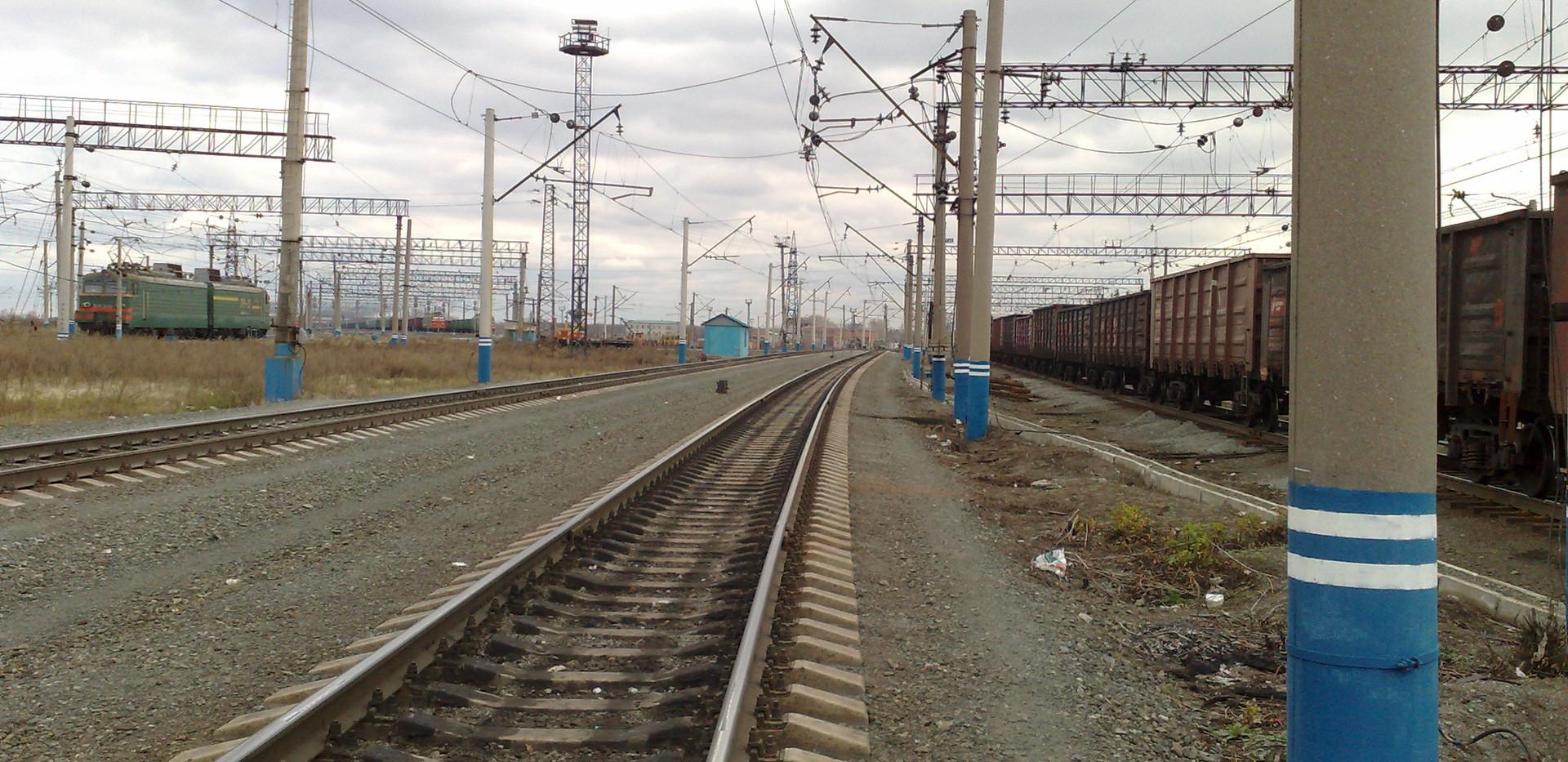 Капитальный ремонт пути на ст. Каменск-Уральский