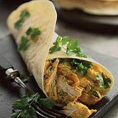 Chicken Curry Wrap