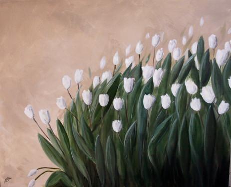 Tulipes au vent