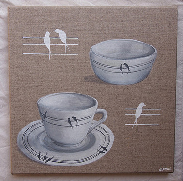 Tasses oiseaux