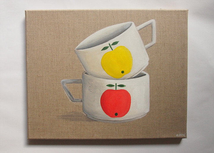 Tasses pommes
