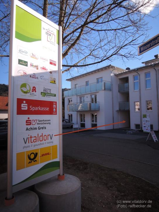 "Vitaldorv im Dorf-Zentrum ""Dorv"" in Bühl - Eisental"