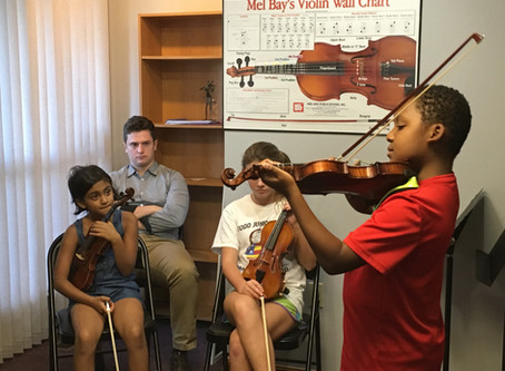 Students learn a great deal in their orchestra classes -