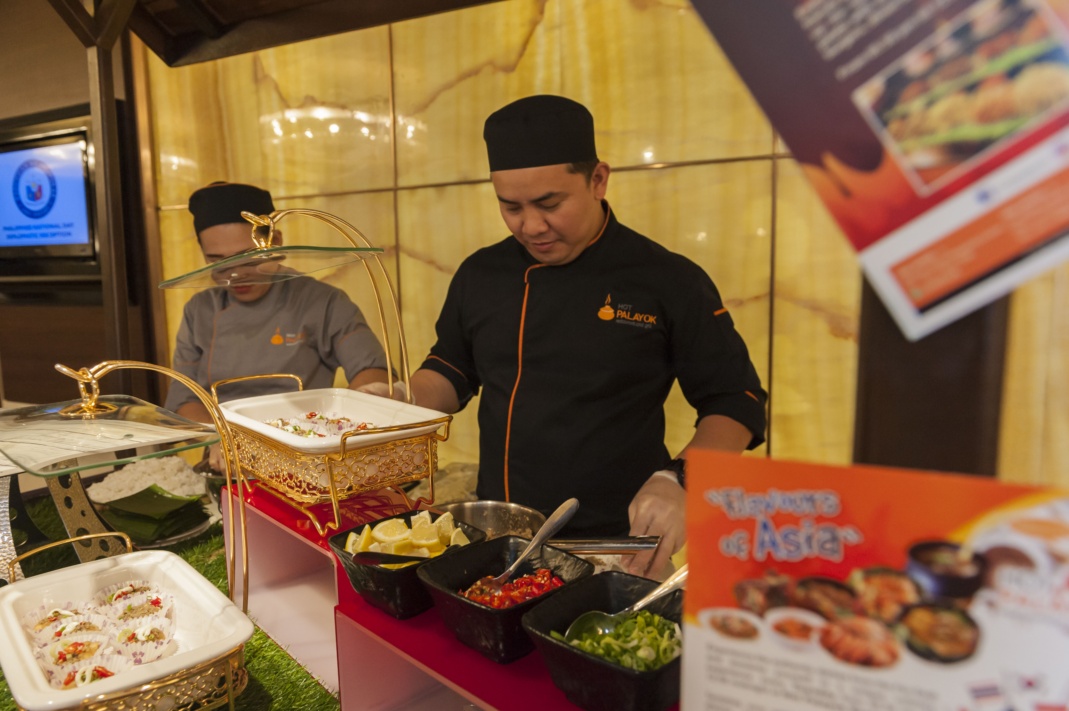 Filfood Fest Launch - Hot Palayok Restaurant