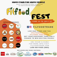 Filfood Fest Flyer 2019
