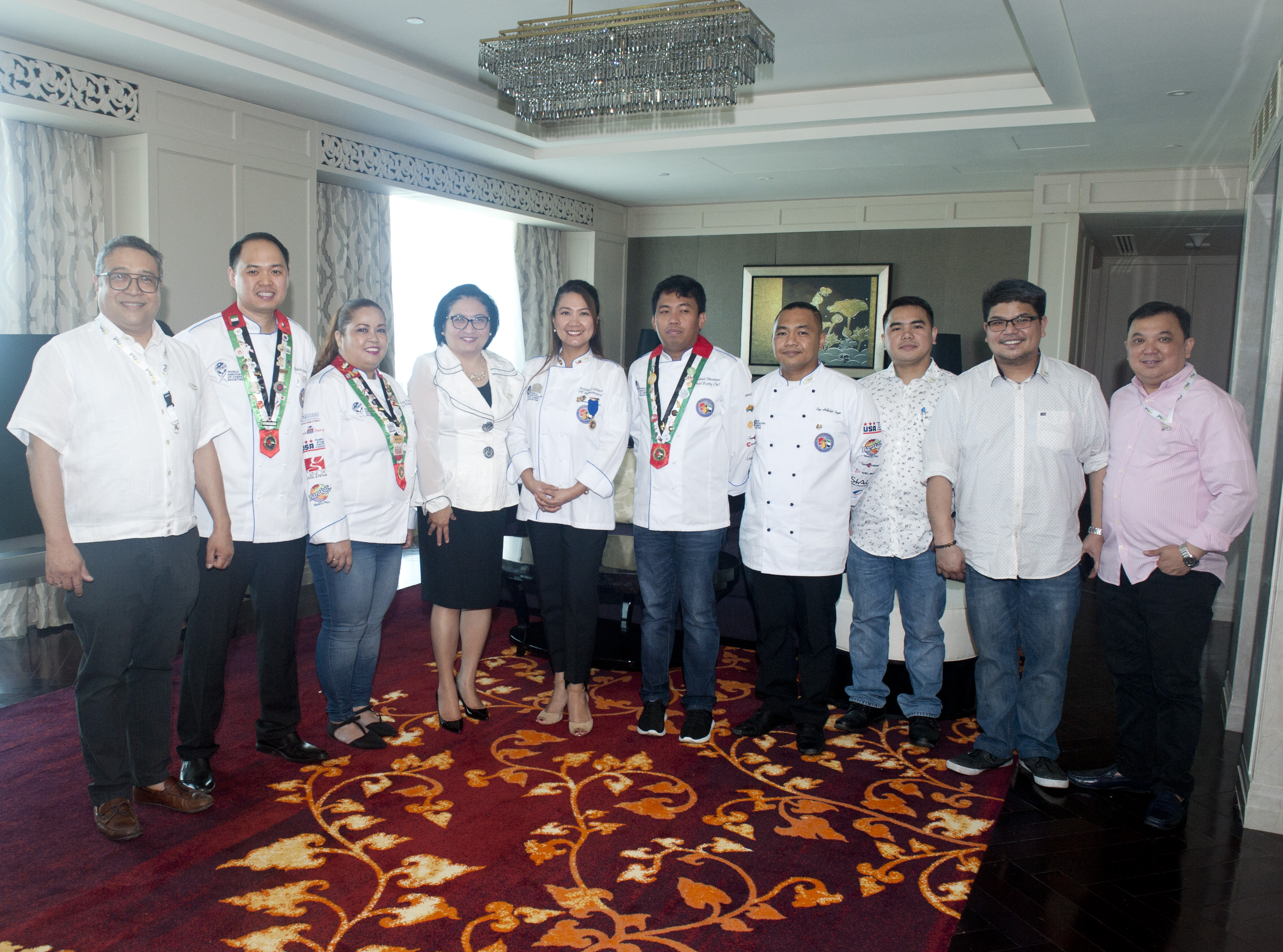 Filfood Lunch at the Residence of H.E. Ambassador Hjacyeelyn M Quintana
