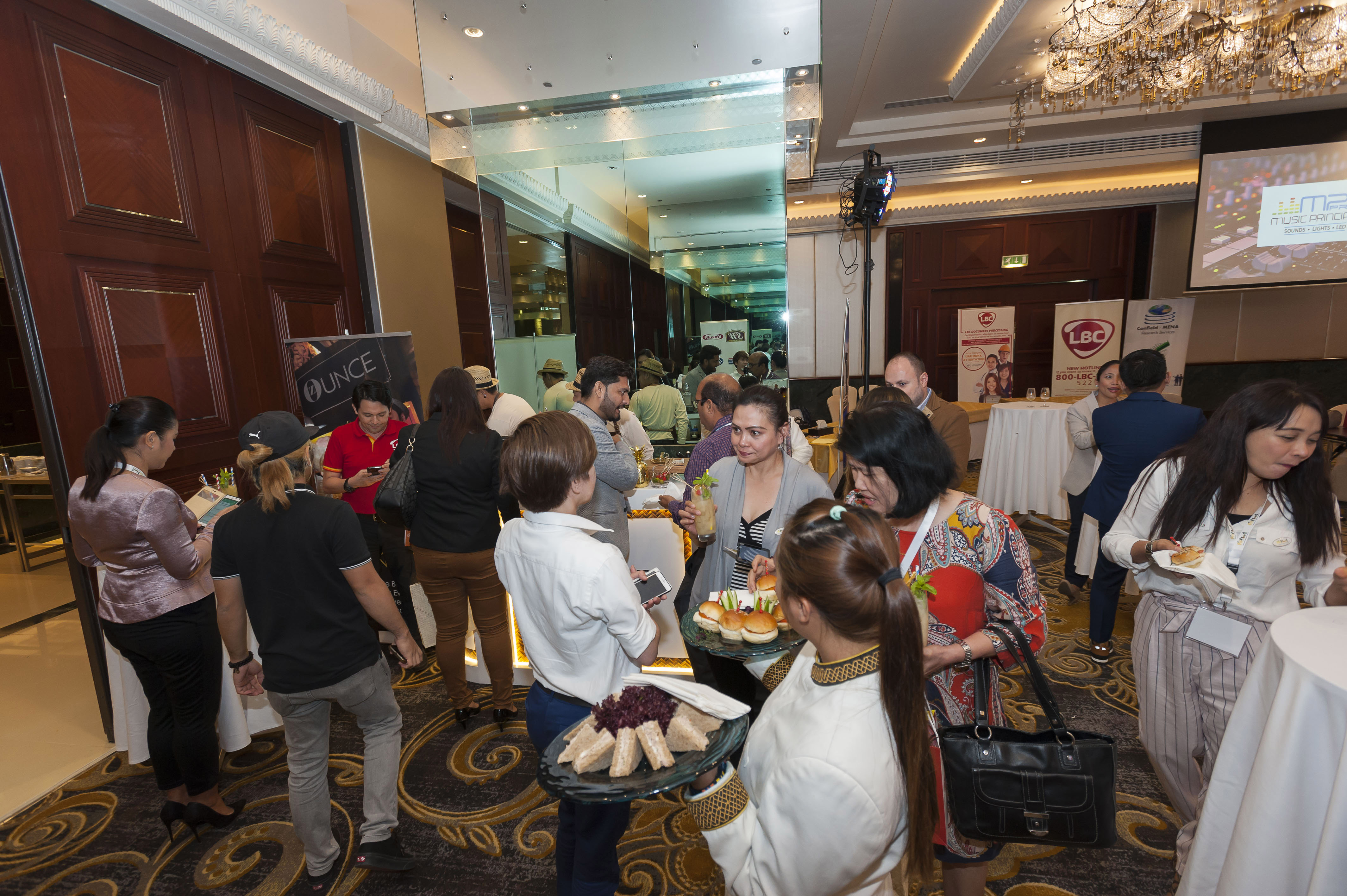 Filfood Dubai Conference Networking
