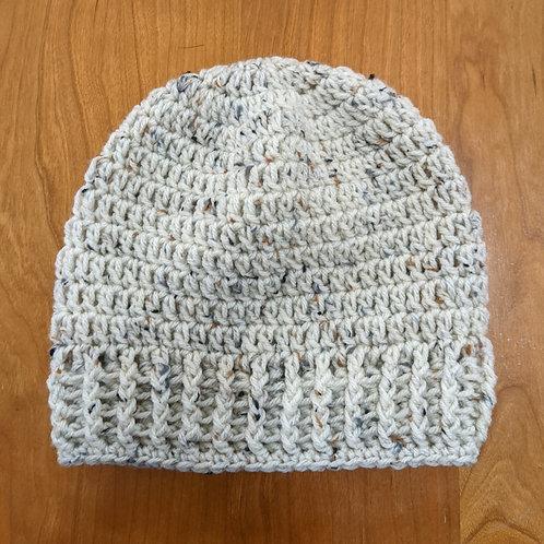 Oatmeal Crocheted Hat