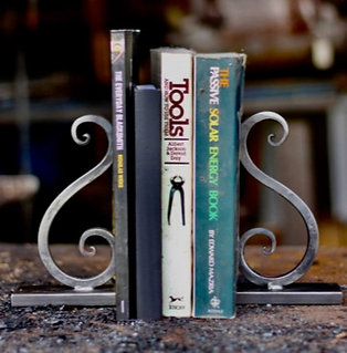 Scrolled Bookends