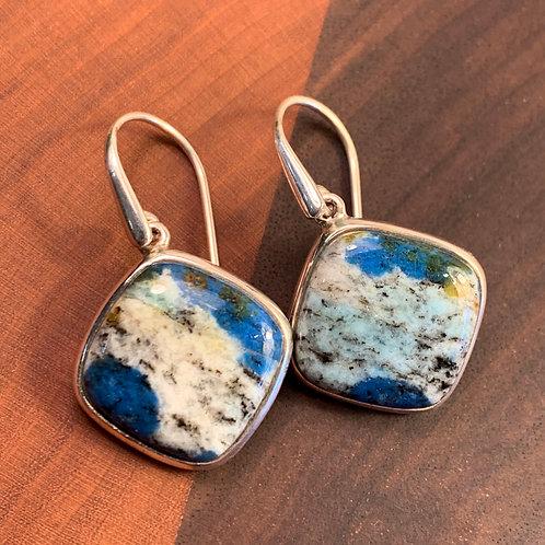 Blueberry Jasper Earrings