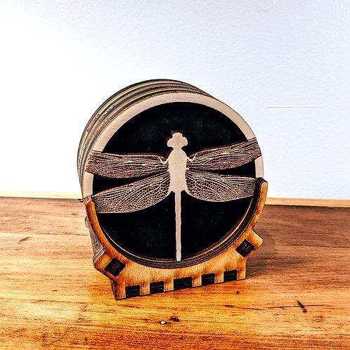 Dragonfly Coaster Set