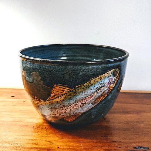 Trout Serving Bowl