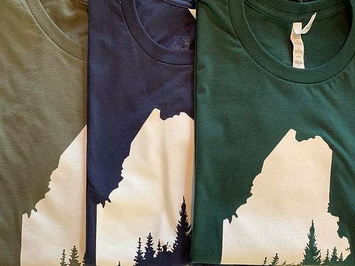 Navy Pine Coast Tshirt