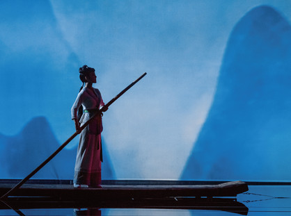 CHINESE OPERA TELLS OF THE LEGEND OF THE CHINESE SONG FAIRY