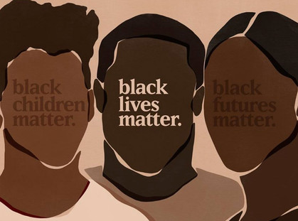 Supporting #BlackLivesMatter through art