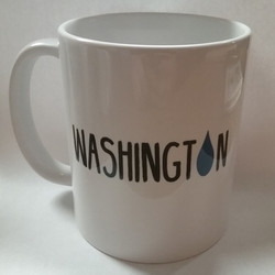 Washington Raindrop Mug