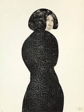 Looking back, 1984 (etching)