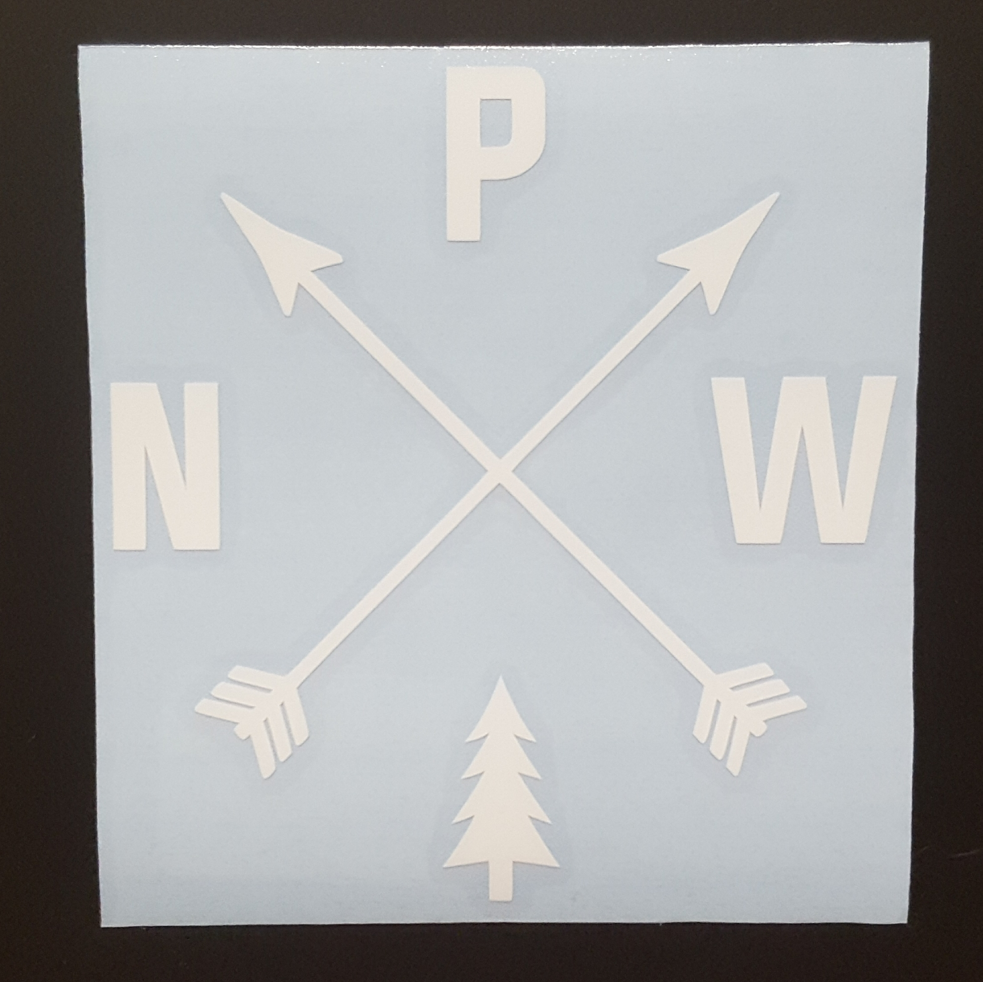 PNW Arrows Sticker